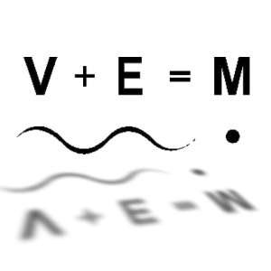 V+E=M